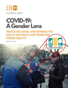 Cover page of UNFPA report featuring HealthRight mobile teams